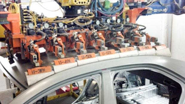 激光焊接在汽车顶盖上的应用