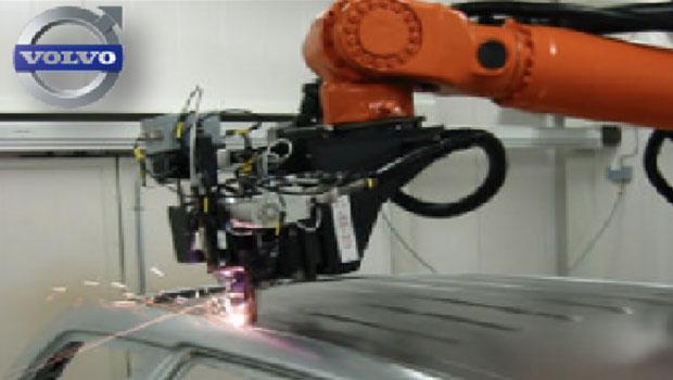 激光深熔焊在汽车车顶上的应用