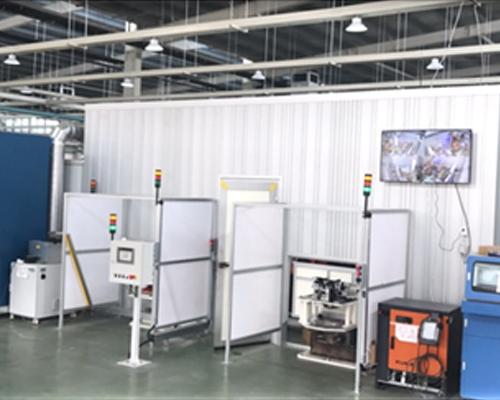 高效多柔性涡轮拨杆激光焊接站正式投产