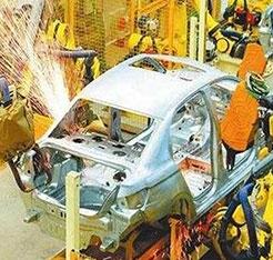 汽车焊接过程中电感式传感器的应用