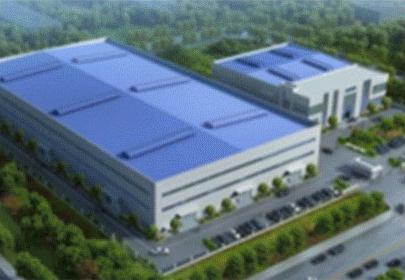 公司厂房鸟瞰图