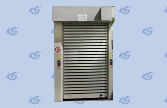 Laser protective roller shutter door LPRD